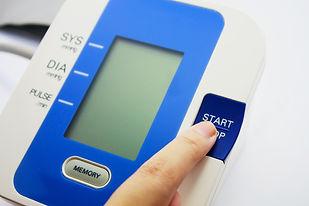 Finger pressing button of digital Blood