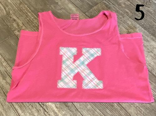 Comfort color K Tank Top