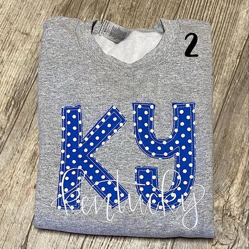 Ky Kentucky Crewneck