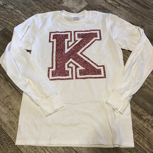 Rose Gold Sparkle K T Shirt