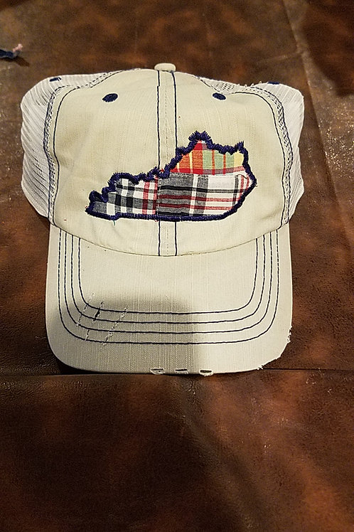 Plaid ky hat