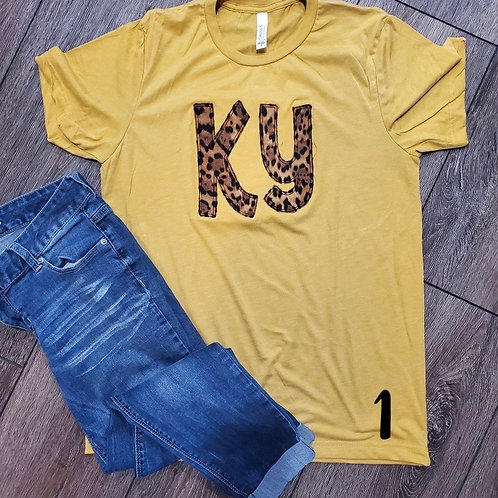 Fall Ky Tees (plus sizes)