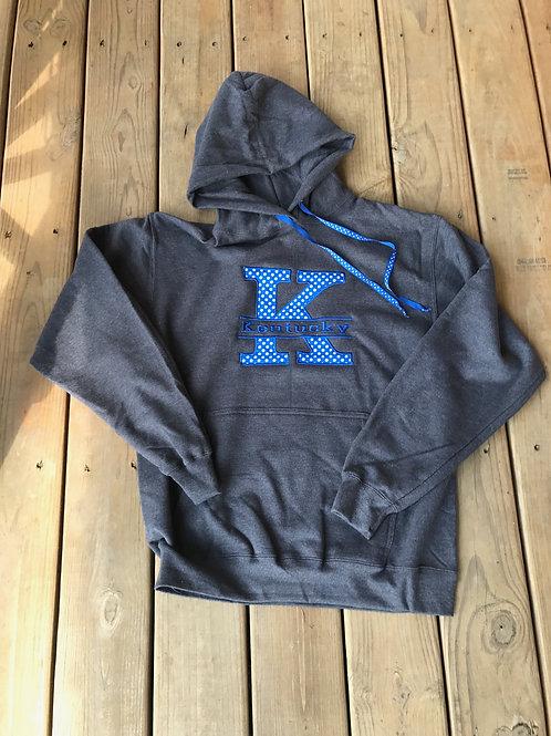 Split K hoodie