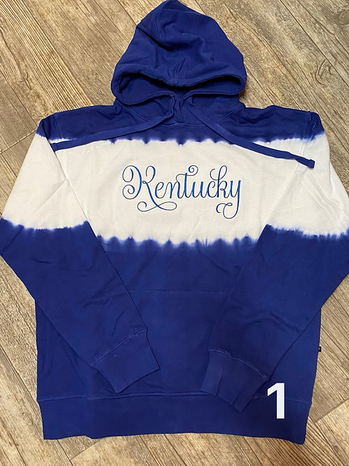 Tyed Dyed Ky Hoodie (Plus Sizes)