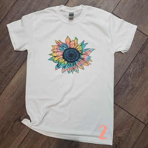 Sunflower Sublimation Tees