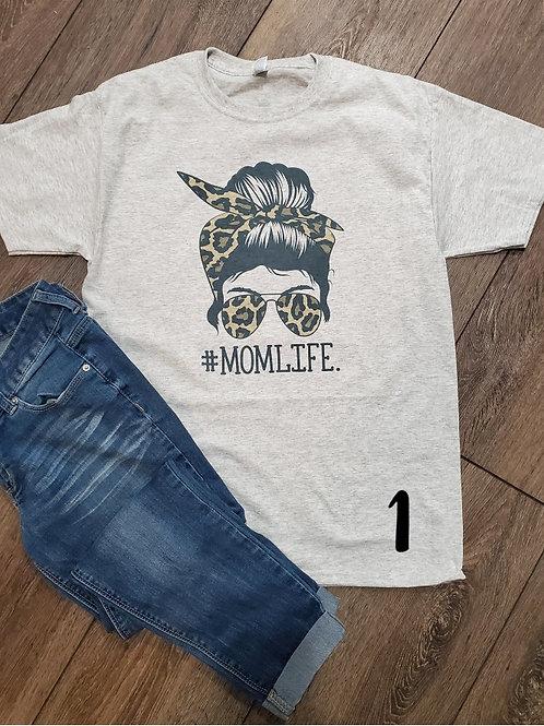 Mom life tee (plus sizes