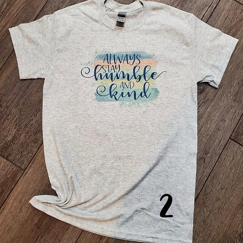 Be Kind Sublimation Tees