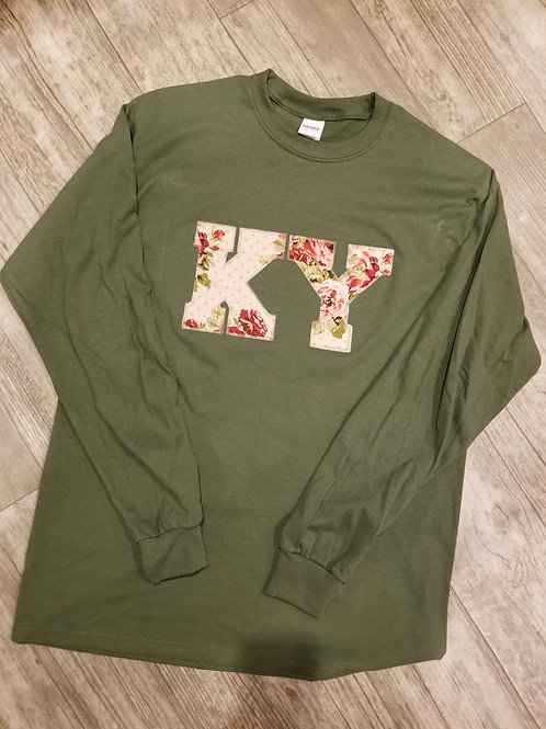 KY Long sleeve t (olive)
