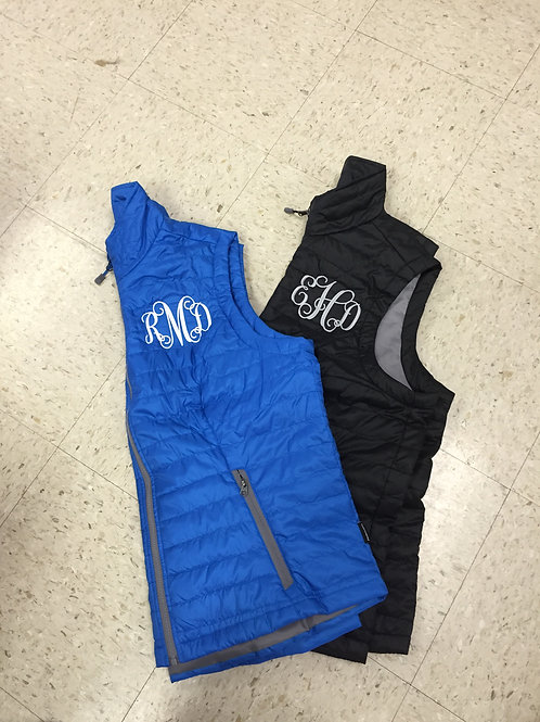 Womens Vest With Intials