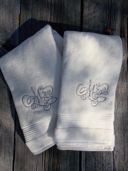 Mr. & Mrs. Towel Set