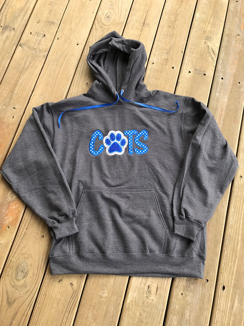 Cats with paw hoodie