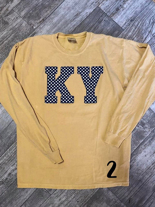 Ky Long Sleeve Tee (plus sizes)
