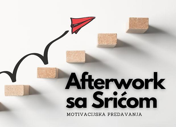 Afterwork sa Srićom motivacijska predava