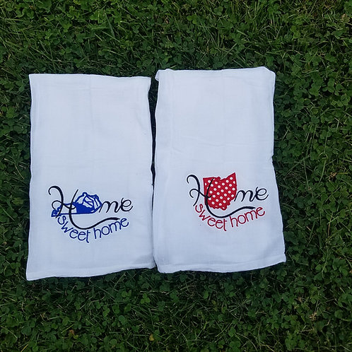Flour sack hand towels