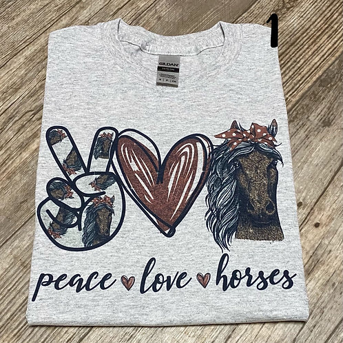 Horse Lovers Tee (plus sizes)
