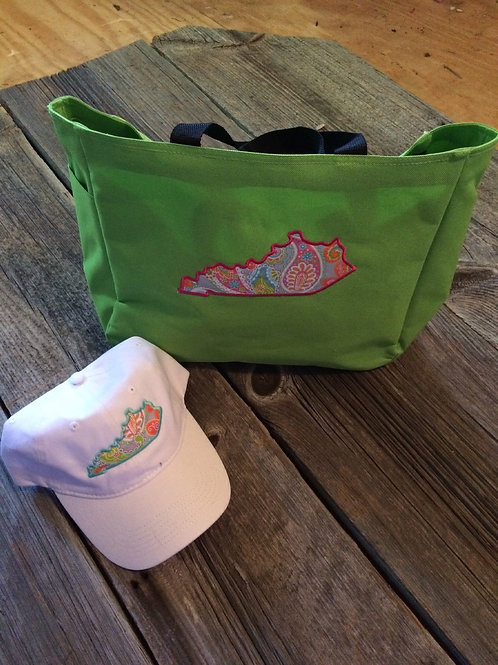 Ky tote bag and hat