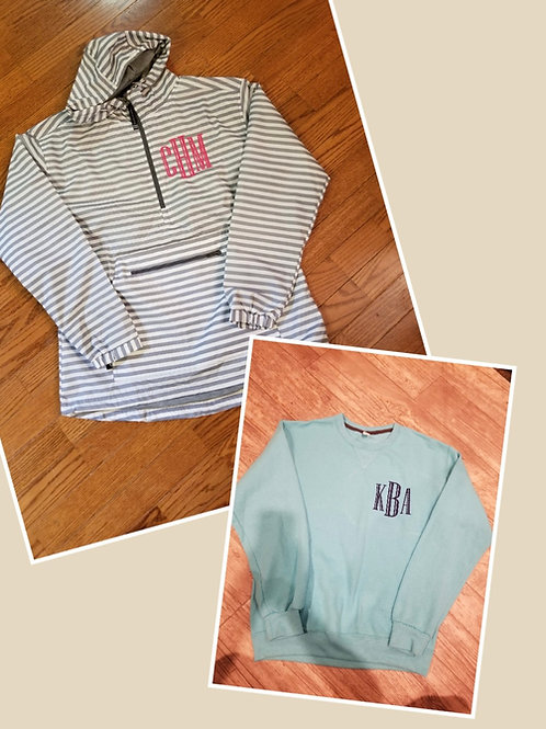 RainJacket pullover special (stripe)
