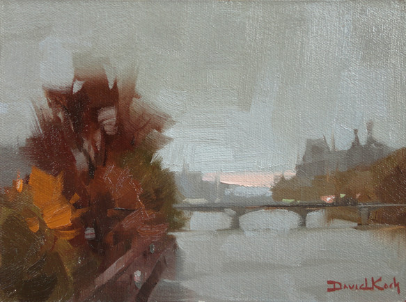 Upriver from the Louvre