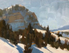 """""""Logan Canyon Plein Air"""""""