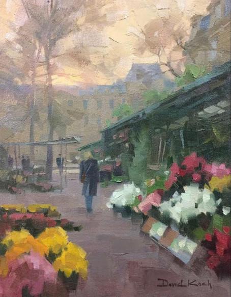 """SOLD """"Flowers In Paris"""""""