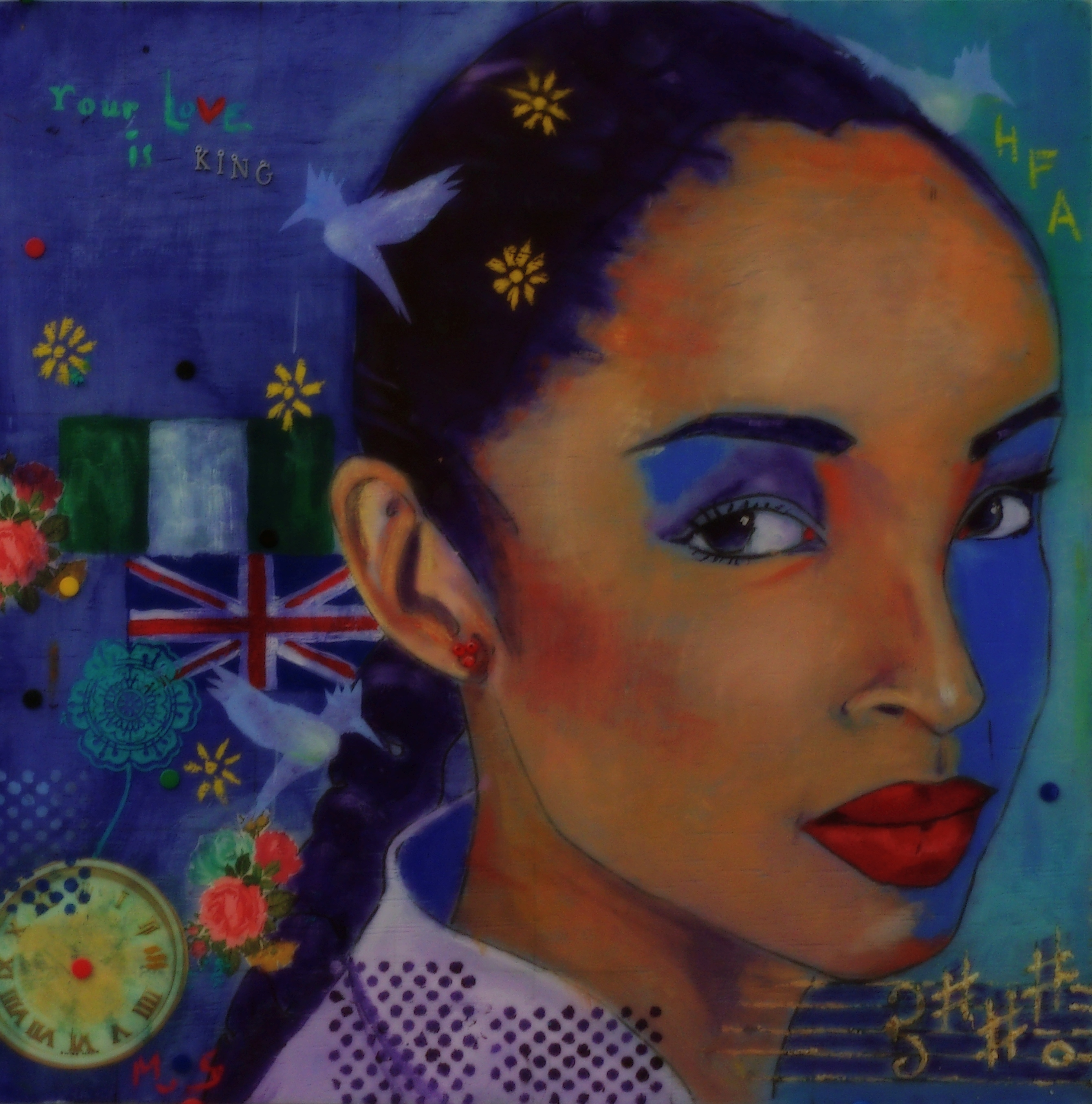 Portrait of Sade