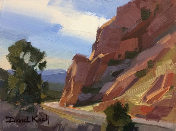 Cedar Canyon - Plein Air