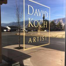David Koch Gallery Opening