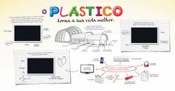 Painel Plastico vida melhor_3,8x2m