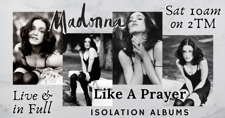 Madonna Like a Prayer - Isolation Graphi