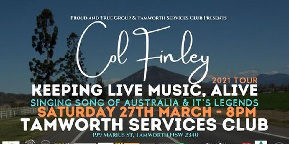 Col Finley Live