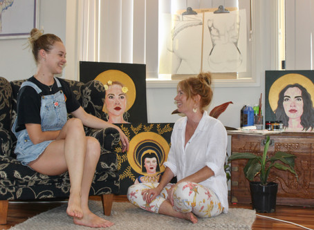 Local artists challenge feminine ideals