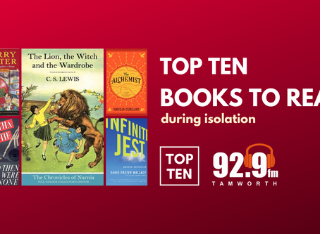Top Ten Books to Read in Isolation
