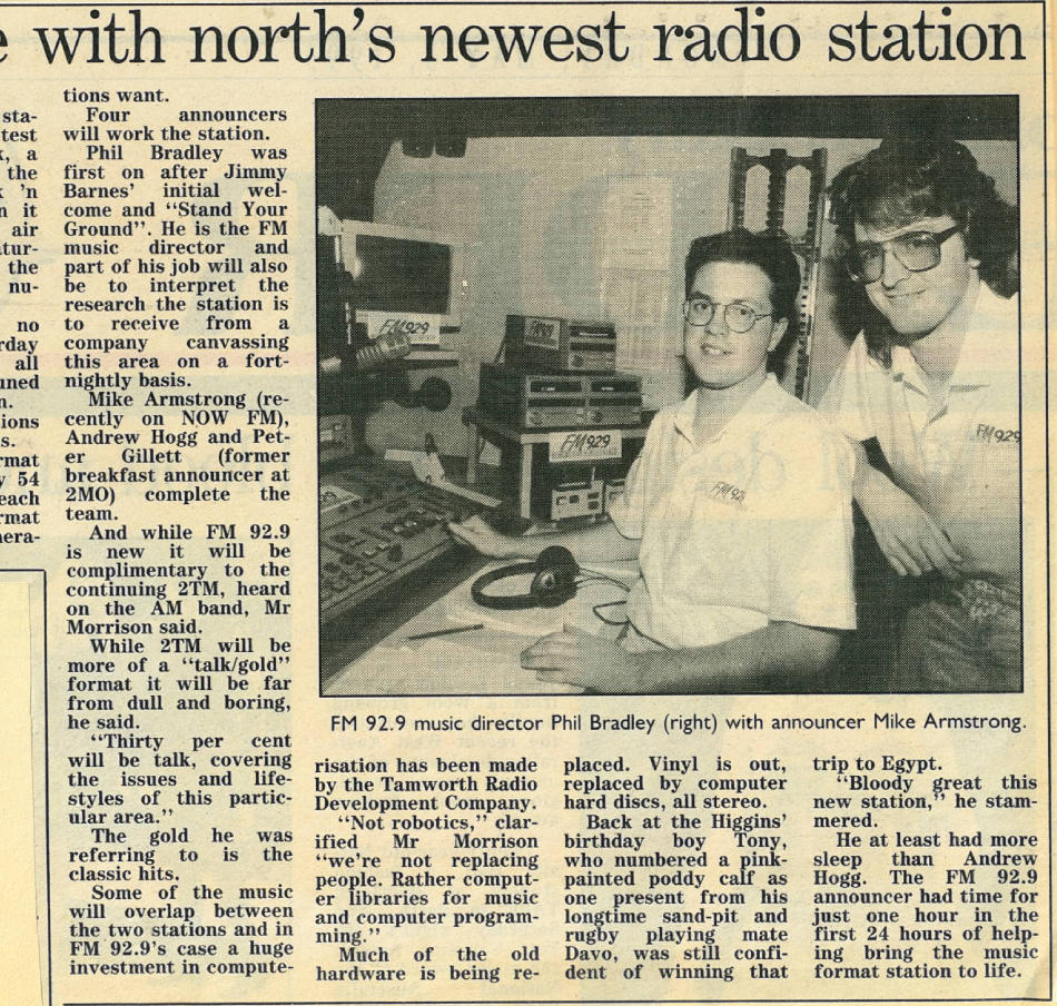 News article in NDL - 3rd May 1993