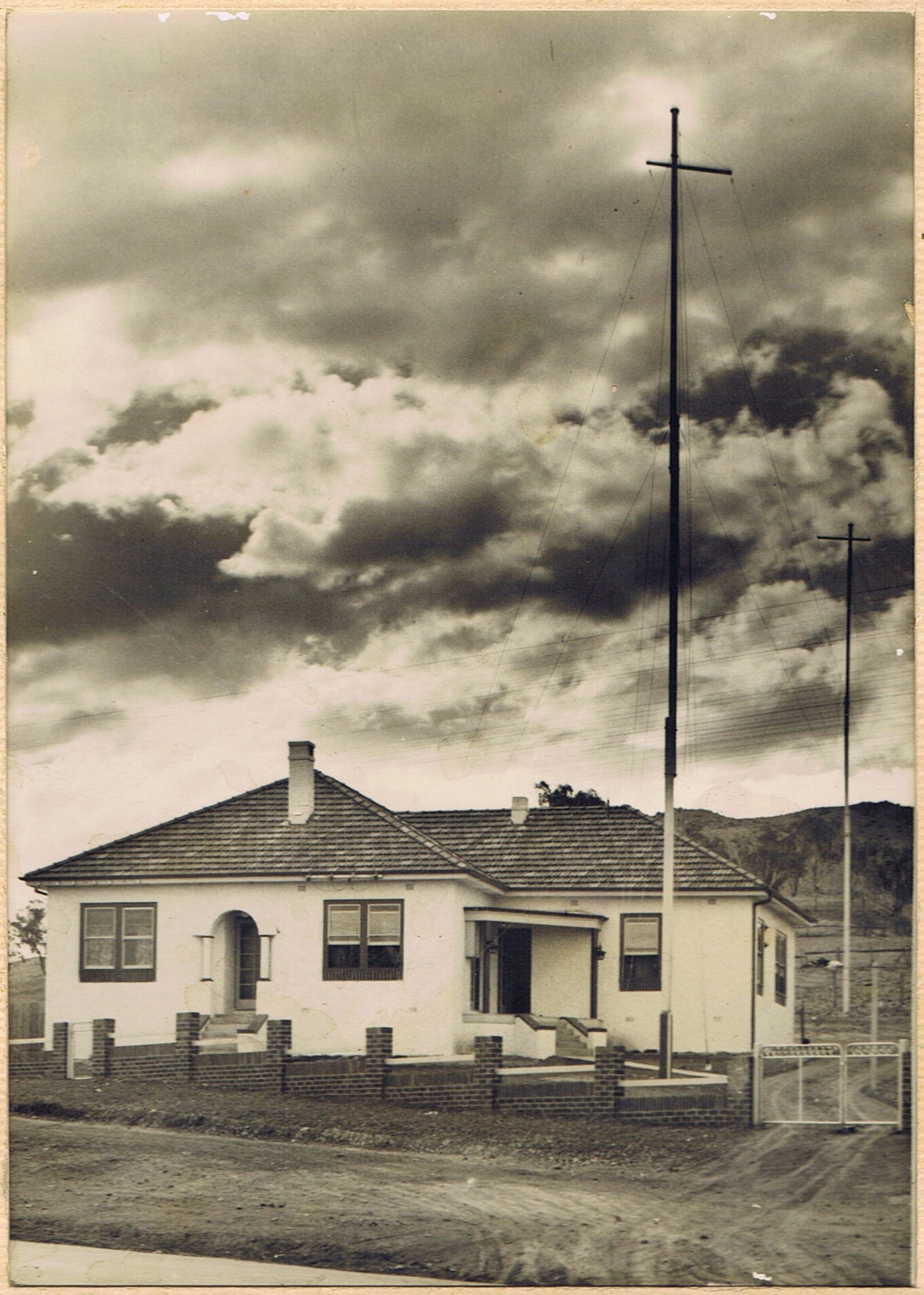 2TM 's first Broadcasting studio built 1934