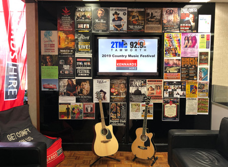Got a Gig for the TCMF?  Drop us in a poster for our Gig wall