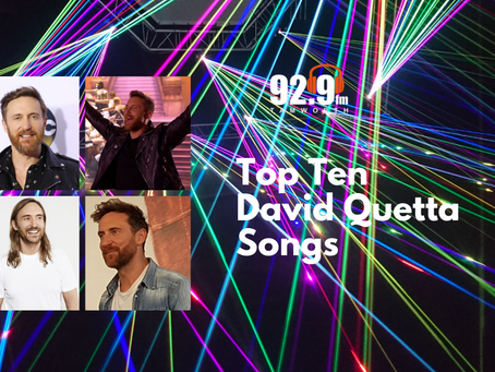 Top Ten David Guetta Songs