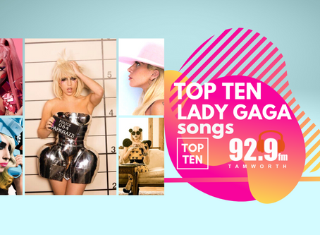 Top Ten Lady Gaga Songs that give us life