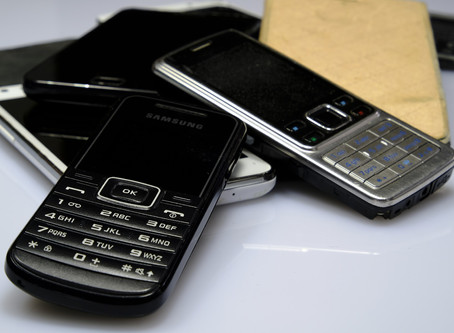 Recycle your old mobile phones right here in Tamworth