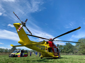 Westpac Rescue Helicopter Called out to Dangerleigh