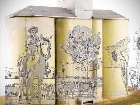 Can Quirindi join the Australian Silo Art Trail?