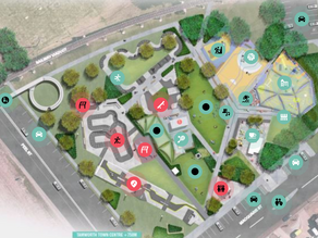 New skate track, playground on the cards in Viaduct Park masterplan draft
