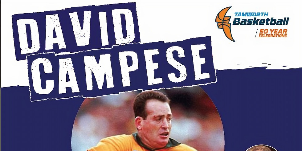 Sportsperson Dinner with Special Guest David Campese