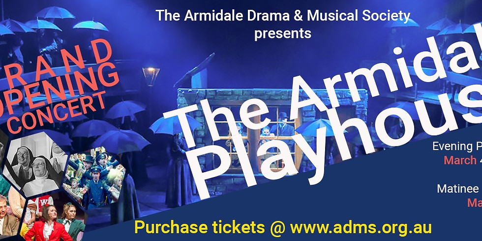 The Armidale Playhouse Grand Opening