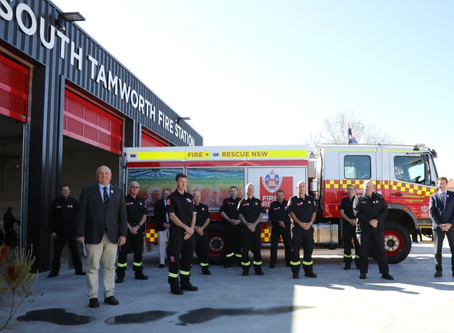 'State of the art' fire station officially opened in South Tamworth