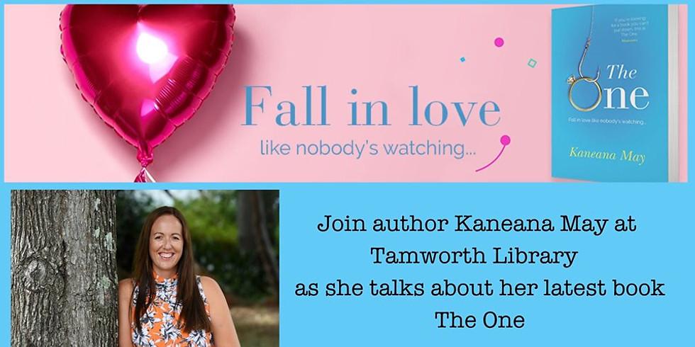 Author talks with Kaneana May