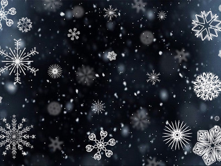 Winter is here: Snow is falling in New England