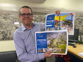 'Blueprint' to reach 100000 to be put before council