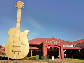 Changes on the Way for the Golden Guitar Visitor Information Centre.