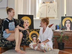 Local artists challenge feminine ideals