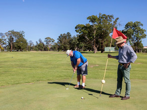 Uralla Golf Club drains hole in one for upgrades